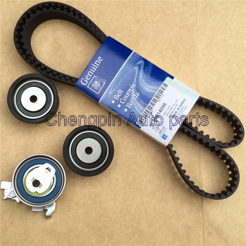 Engine Original Timing Belt Kit Tensioner OEM 93174261 For Excelle 1 8L Epica Vauxhall Astra Vectra