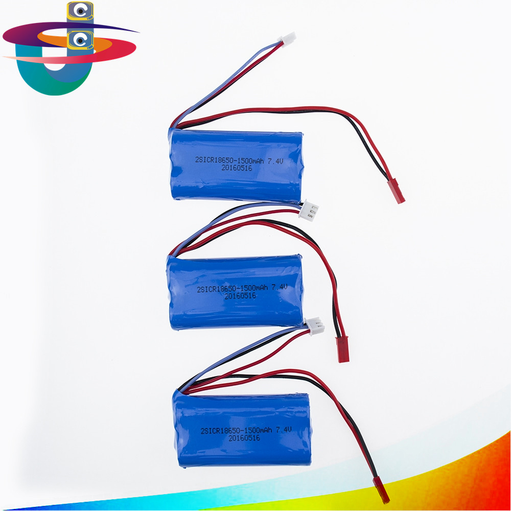 New Arrivals Feiyue FY01 FY02 FY03 7.4V 1500mAH Lithium Battery FY7415 RC Car Parts Remote Control 18650 1 12 feiyue 1 12 fy01 fy02 fy03 rear gear box assembly fyhbx01 rc car parts