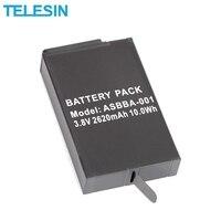 TELESIN 3 8V 2620mAh 10Wh LiPo Battery For GoPro For Fusion 360 VR Camera For Sport