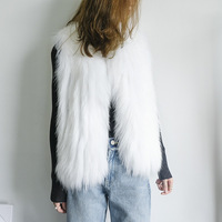 JKP real raccoon fur coats whole skin fashion vest female short section outerwear natural fur vest female new discount HC 19