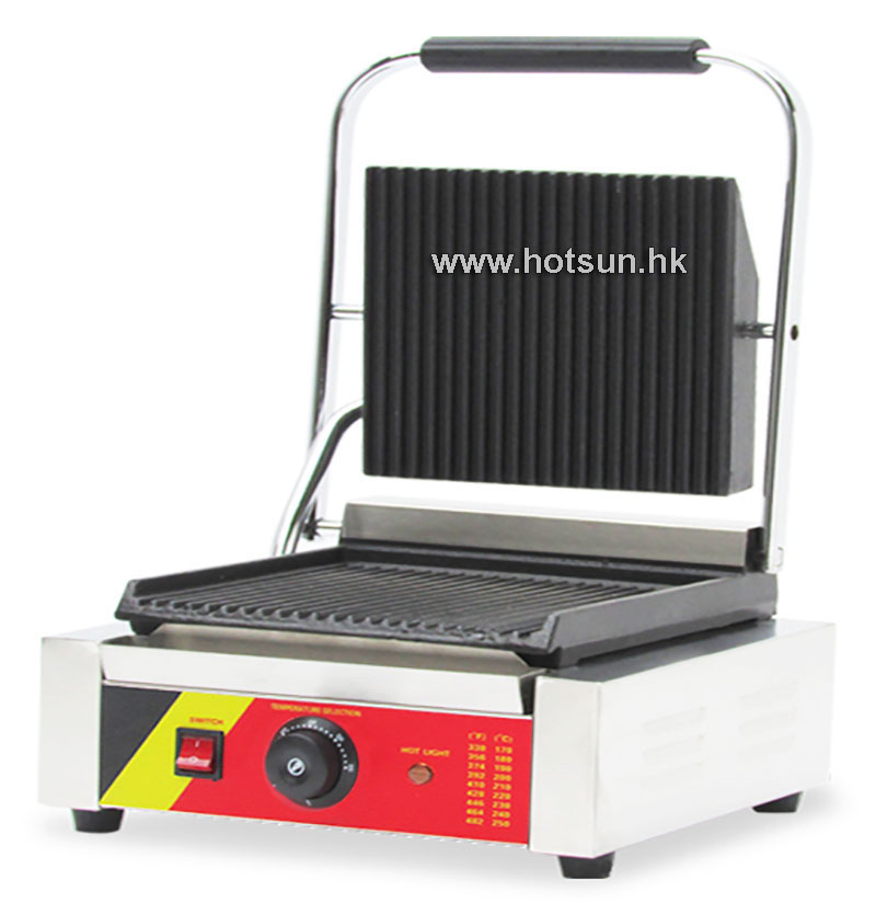 Free Shipping Commercial Non-stick 220V Electric Sandwich Plate Panini Grill Press Machine free shipping commercial non stick 220v electric sandwich plate panini grill press machine