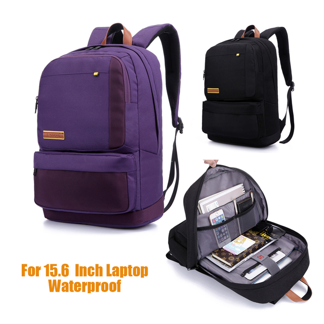 77b3d2d9754e1 Laptop Backpack For 15.6 Inch Notebook Computer Backpack Travel Bag School  Bag Waterproof Nylon Bag For Macbook Pro Air Hp