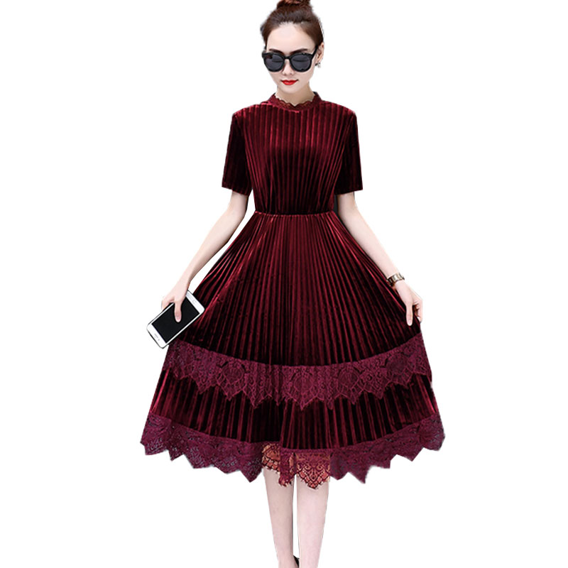 Vestidos Verano 2018 New Summer Plus Size Dress Women Loose Short