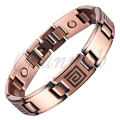 Channah 2017 Magnetic Men Antique Copper Plating Bracelet Free Shipping Bio Bangle Gift Male Gentlemen Maze Pattern Charm