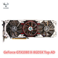 Colorful iGame GeForce GTX1080 X 8GD5X Top AD V3 Graphic Card 8GB GDDR5X 256bit with HDMI / DVI / DP 1.4 Interface