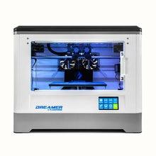 Flashforge 3D принтер, Мечтатель, Diy двойного экструдера, Бизнес класс, Полностью закрытых палата, W / 2 бесплатная spools, Бесплатная доставка