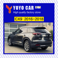 Высокое качество алюминиевого сплава винт установить боковую рейку Бар Багажник для Mazda CX 9 cx9 2016 2017 2018 16 17 18