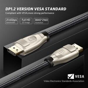 Image 5 - Ugreen Cáp DisplayPort To DisplayPort 144Hz Màn Hình Cổng Cáp 1.2 4K 60Hz Cho HDTV Card Đồ Họa Máy Chiếu DisplayPort To cáp DisplayPort To DisplayPort