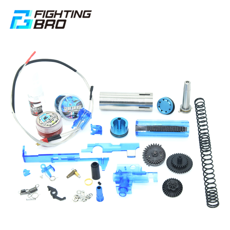 FightingBro Airsoft AEG Accessories Paintball Hunting Air Guns Cylinder Head Piston Spring Guide Outdoor Sports