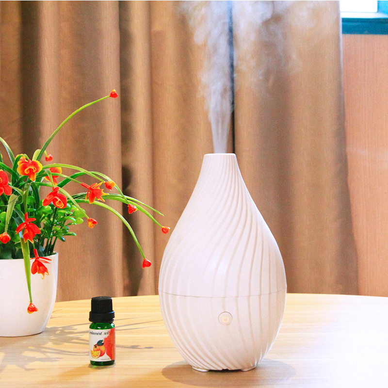 120ML Capacity Changing Night Light Rhyme Style Ultrasonic Humidifier Classic Aroma Oil Diffuser Mist Maker Essential Diffuser
