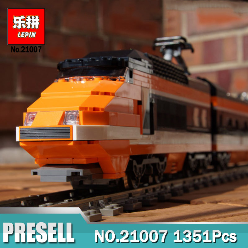 Lepin 21007 Technic Series Horizon Express Train LegoINGly 10233 Educational Building Bricks Blocks Gift Toys for Children
