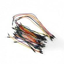 Умная электроника скачок провода кабель мужчин и женщин гибкие перемычки провода для arduino Макет DIY стартовый комплект 65 шт./лот