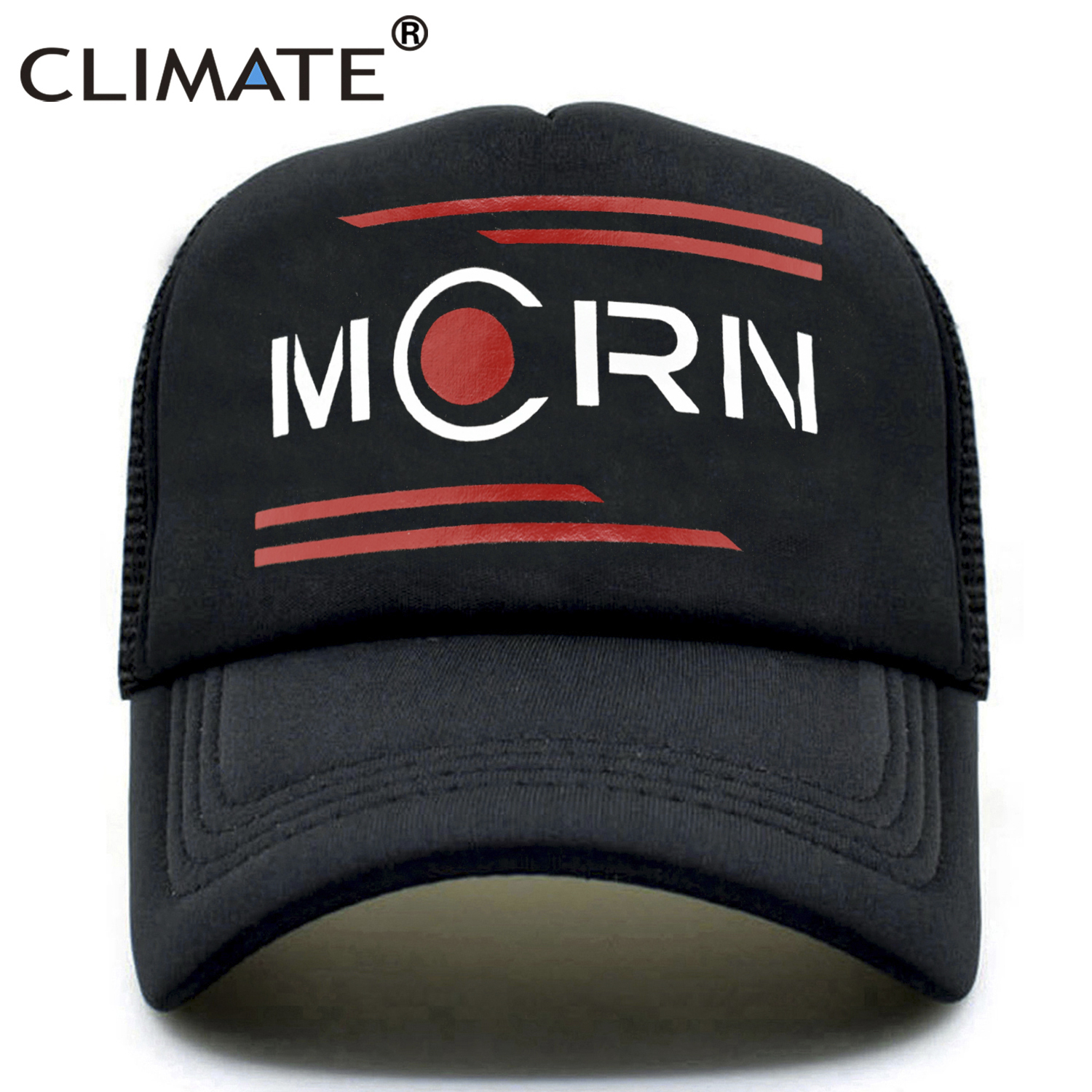 CLIMATE Men Mars Trucker Caps Hat Men Baseball Cap The Expanse Mcrn Cap Hat Mars Rocinante Summer Cool Mesh Baseball Cap Hat Men