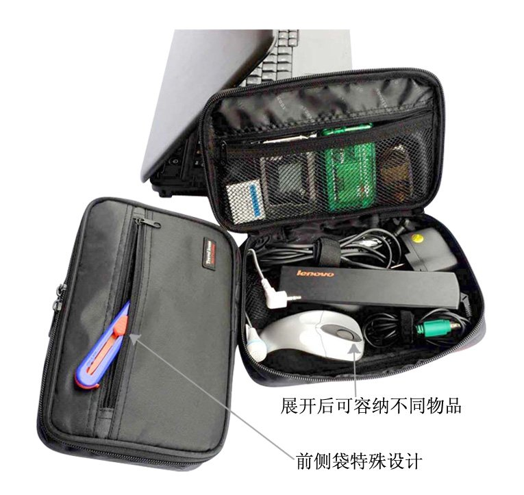 6a1f454ddd3 Free Shipping Cable pouch, cable organizer, IT accessories pouch, computer  accessories organizer-in Travel Accessories from Luggage & Bags on  Aliexpress.com ...