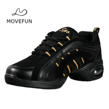 Movefun New Soft Outsole Woman Dancing Sneakers Girls Hip Hop Modern Dance Shoes Jazz Shoes Teachers/Ladies/Adults -63