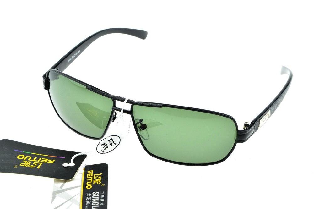 2d3a61cddb46c Rectangle grande Lumière Polarisée double pont lunettes de soleil UV400  polaroid polarisé sport conduite En Plein Air designer lunettes de soleil