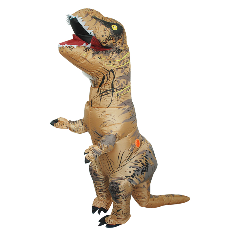 adult inflatable dinosaur cosplay t rex costume halloween inflatable dinosaur costume tyrannosaurus rex clothing in movie tv costumes from novelty