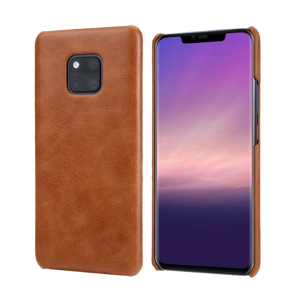 Buy Genuine Leather Case For Huawei Mate 20 10 Pro Luxury Ultra-thin Simple Back Phone Case For Huawei P20 P30 Pro P10 Plus Cover for only 12.02 USD
