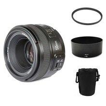 YONGNUO объектив YN 50 мм f/1.8 AF MF объектив + бленда + UV фильтр + чехол для объектива Комплект автофокусом для Nikon Камера как AF-S 50 мм 1.8 г