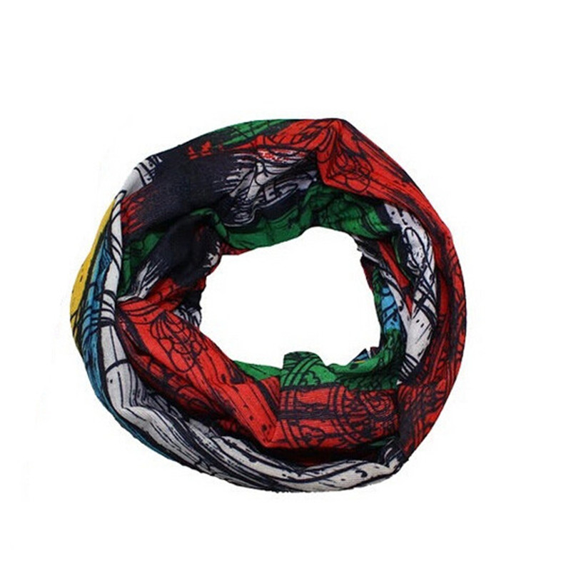 Магия Бесшовные Открытый Велоспорт шарф маска Головные уборы для велосипедного спорта кемпинг открытый Пеший Туризм Рыбалка Универсальный Новинка 2017 года дизайн