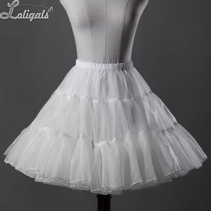Sweet Organza Short A line Petticoat Women s Tutu UnderSkirt by Classical Puppets