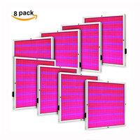 8pcs Lot LED Grow Light 120W Full Spectrum Red Blue For Indoor Medical Plants Grow Medical