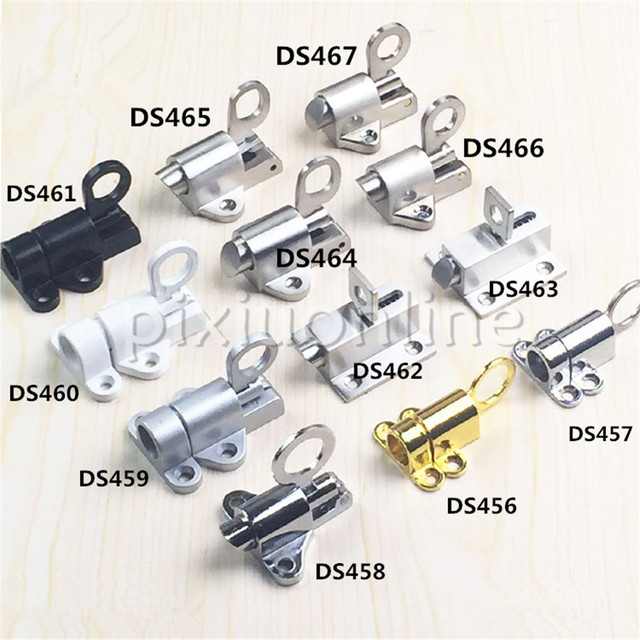 DS467b Zinc Alloy Window Latch Double 2mounting Holes Round Pull Ring DIY Furniture Repair Free Shipping & DS467b Zinc Alloy Window Latch Double 2mounting Holes Round Pull ...