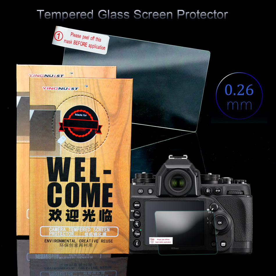 Original 3 inch Camera Tempered Glass Screen Protector For Nikon DF D4S Special Camera Screen Toughened Glass Protective Film