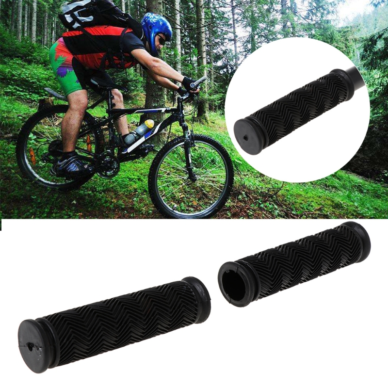 Cycling MTB Fixed Gear 1 Pair Outdoor Grips Fixie Bike Handlebar Bicycle Lock-on