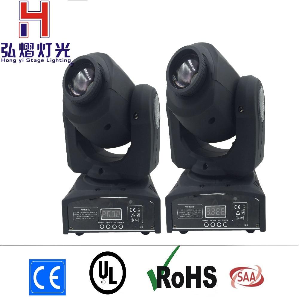 (2 pieces/lot) Eyourlife LED Inno Pocket Spot Mini Moving Head Light 30W DMX stage light dj 8 gobos effect stage lights цены онлайн