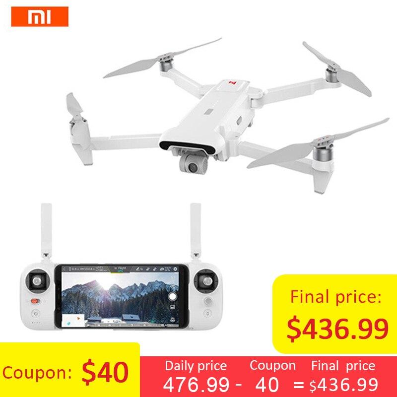 Xiaomi FIMI X8 SE 5KM FPV Com 3-eixo Cardan Câmera GPS 33 4K minutos de Tempo de Vôo RC Drone Quadcopter RTF Dobrável Profissional