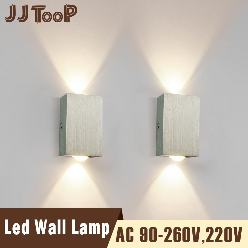 Lighting Basement Washroom Stairs: Modern Led Wall Lamp 3W 6W Wall Loft Up Down Sconces