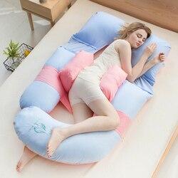 10 цветов, Удобная Подушка для беременных для сна, подушка для тела для беременных, дышащая подушка для защиты талии, Подушка для кормления жи...