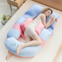 10 Colors Comfortable Pregnancy Pillow for Sleeping Maternity Body Pillow Breathable Bedding Protect Waist Belly Nursing Cushion