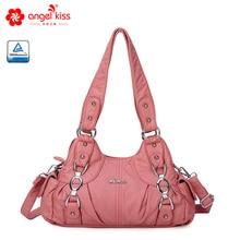 Angel Barcelo Causual Hobos Women Handbags Soft Shouder Bags for Street Travel AKW22024