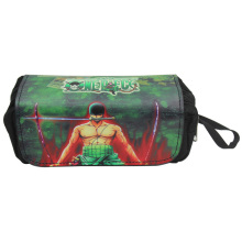 Fashion Leather Cosmetic Cases Anime One Piece Naruto Pen Pencil Bags