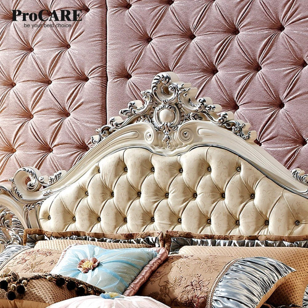 Luxury european and american style furniture royal series bedroom furniture set solid wood leather bed in bedroom sets from furniture on aliexpress com