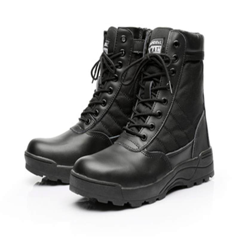Men Tactical Boots Army Boots Men's Military Desert Waterproof Work Safety Shoes Climbing Sport Shoes Ankle Men Outdoor Boots