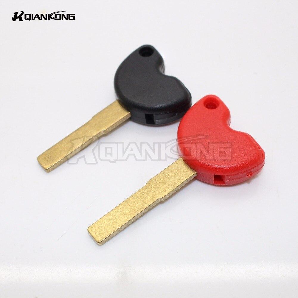 R QIANKONG Universal Motorcycle Keys Embryo For BEVERLY250 BEVERLY300 BEVERLY400  BEVERLY500 MP3 Gilera500