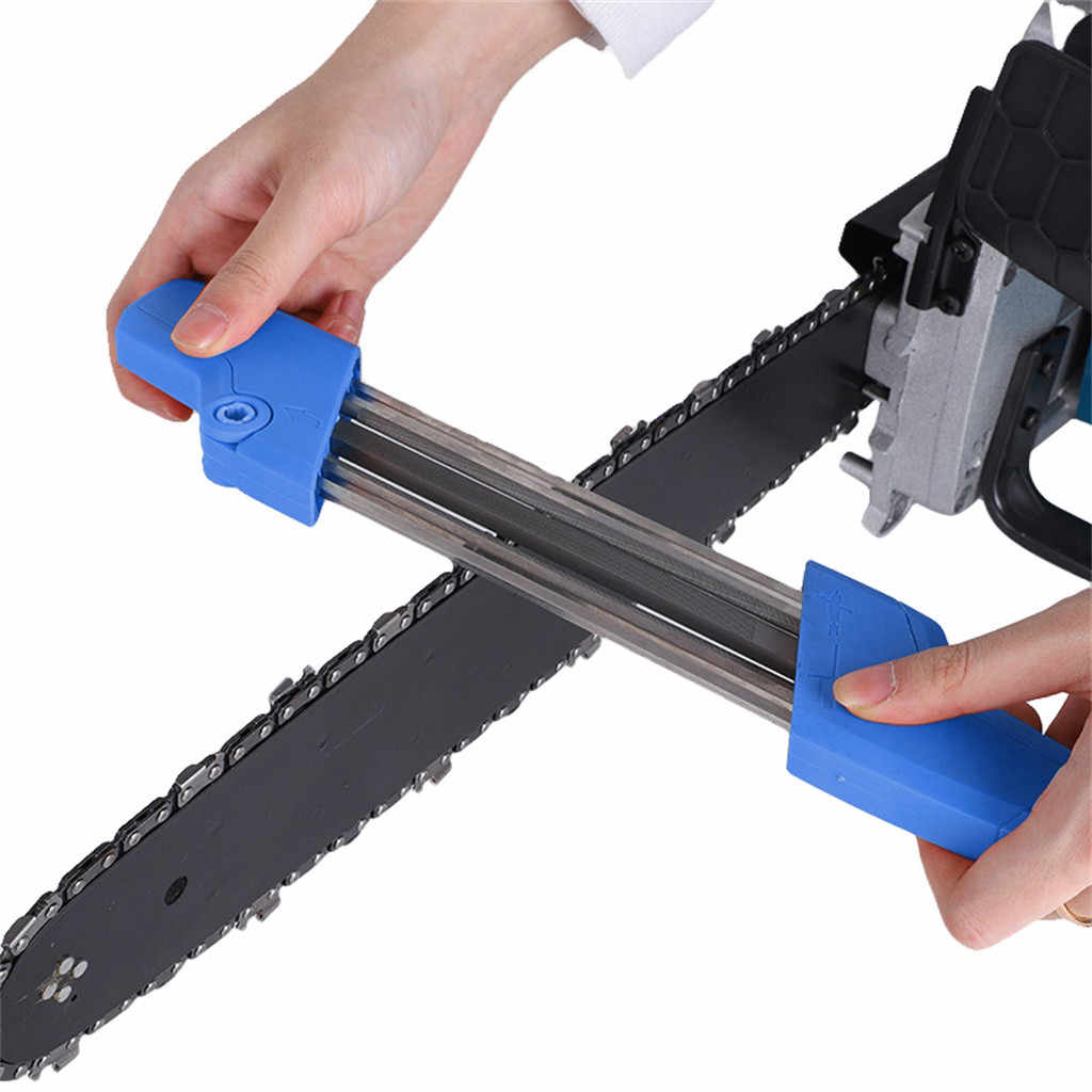 Easy File 2 In 1 Chainsaw Grinding Chain Tool Chainsaw Chain Sharpener Replacement Chain Grinding Tool