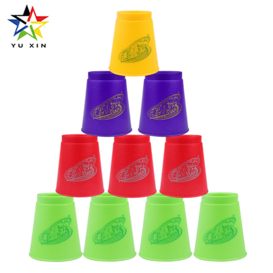 2018 YUXIN Speed Stacks Cups Quick Training Cup Three