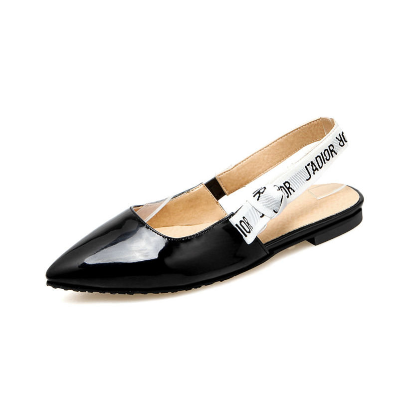 new fashion summer shoes women shoes pointed toe patent leather women flats closed toe lady shoes small big size 32-46 0476 plue size 34 49 spring summer high quality flats women shoes patent leather girls pointed toe fashion casual shoes woman flats