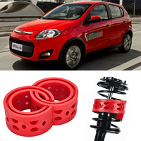 2pcs Size B Front Shock Suspension Cushion Buffer Spring Bumper For Fiat Palio