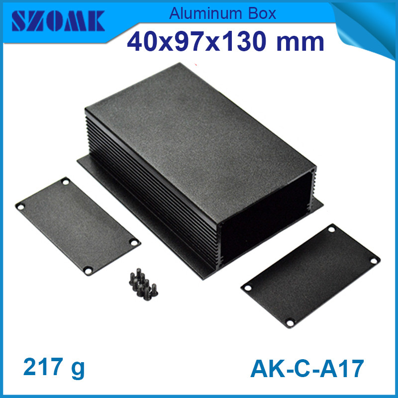 szomk electrical aluminum cabinet (1 piece) anodizing diy junction case for power supply 40x97x130mmszomk electrical aluminum cabinet (1 piece) anodizing diy junction case for power supply 40x97x130mm