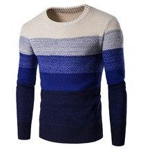 Pullover Männer 2016 Marke Verdickung Pullover Pullover Männer Oansatz Spleißen Slim Fit Strick Herren Pullover Mann Pullover Männer XXL