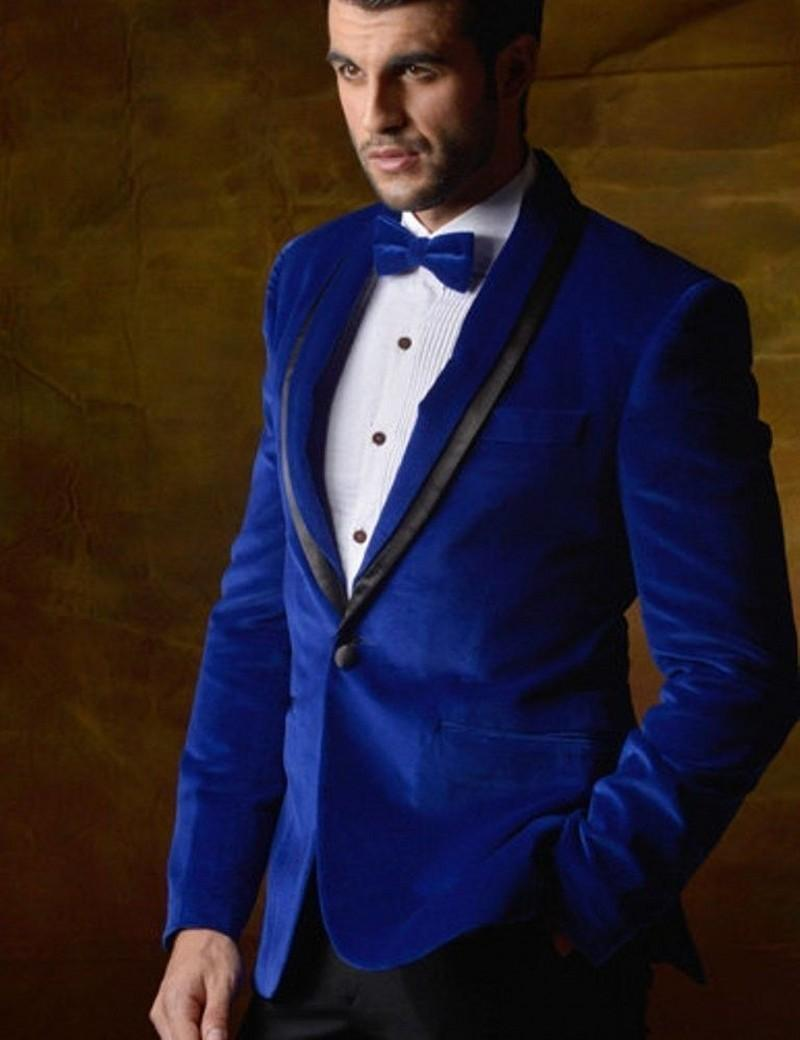 Compare Prices on Velvet Blue Prom Suit Jackets- Online Shopping ...