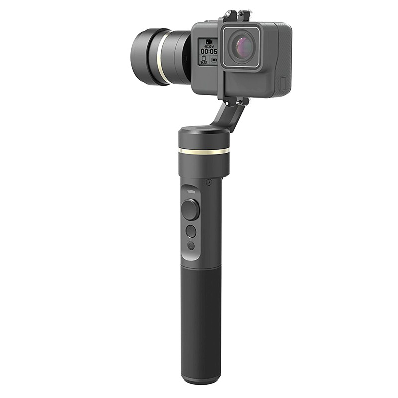 Feiyu Tech G5 3-Axis Handheld Gimbal Action Camera Stabilizer Splash-Proof Design for HERO5 HERO4 HERO3 feiyu tech g5 3 axis handheld gimbal action camera stabilizer splash proof design for hero5 hero4 hero3