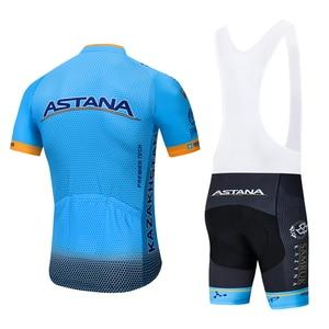 Image 2 - 2020 DE ASTANA squadra di Ciclismo jersey 20D bike shorts vestito Ropa Ciclismo MENS di estate quick dry Ciclismo Maglia di usura inferiore