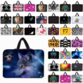 "New Arrivals 10"" 12"" Tablet Netbook Inner Bags Cover + Hide Handle 13 13.3 14 15 15.6 17 Inch Notebook Laptop Neoprene Cover Bag"