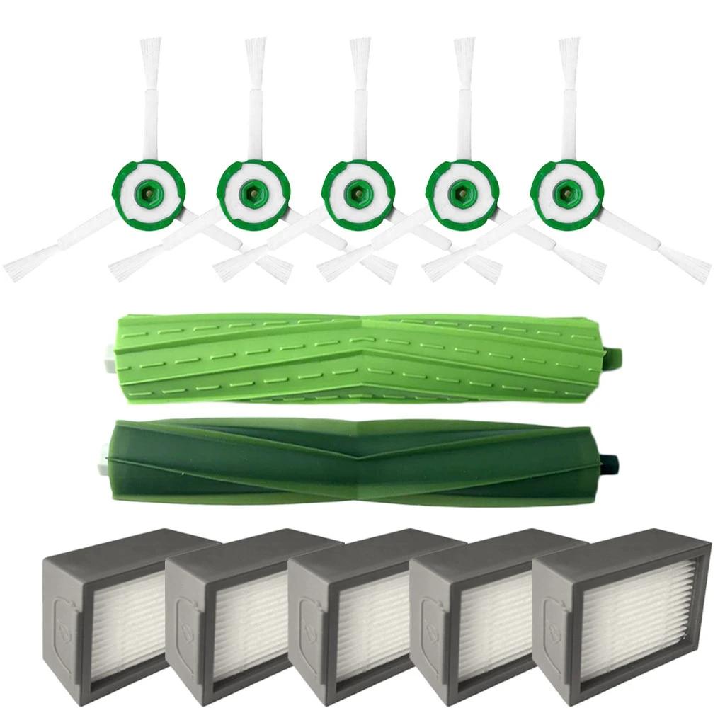 Side Brush Hepa Filters Bristle Brush For iRobot Roomba i7 i7+//i7 Plus E5 E6 E7